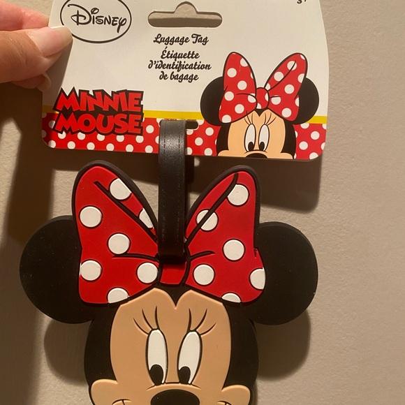 DISNEY Minnie Luggage Tag